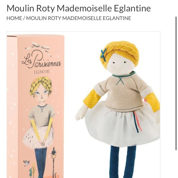 Moulin Rory Parisienne Doll